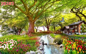 tranh phong cảnh đẹp giá rẻ tại hà nội