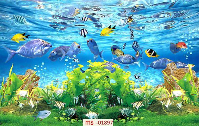 tranh gạch cá 5d