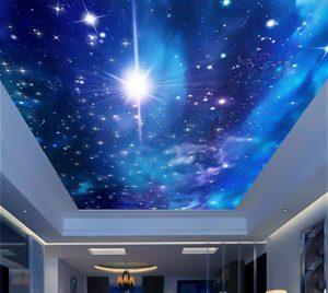 trần xuyên sáng hiệu ứng vũ trụ